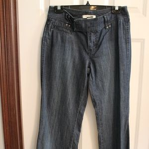 White House Black Market- Blanc Dark denim jeans